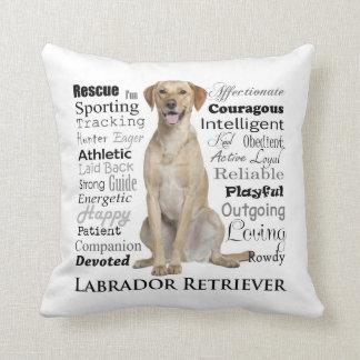 Lab Traits Pillow