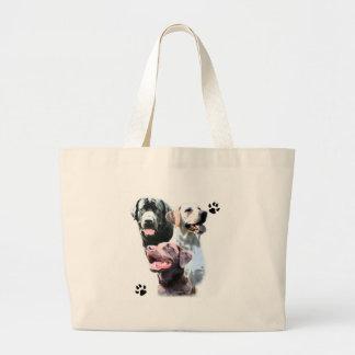 Lab Trio Canvas Bags