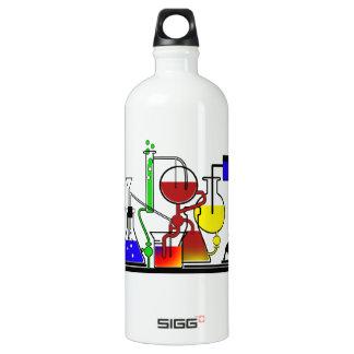LAB WARE - LABORATORY  GLASSWARE MAD SCIENTIST ALUMINUM WATER BOTTLE