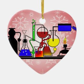 LAB WARE - LABORATORY  GLASSWARE MAD SCIENTIST CERAMIC ORNAMENT