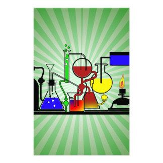 LAB WARE - LABORATORY  GLASSWARE MAD SCIENTIST STATIONERY