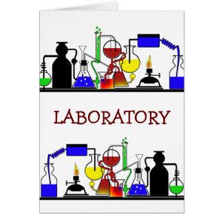 LAB WARE - LABORATORY GLASSWARE SETUP CARD