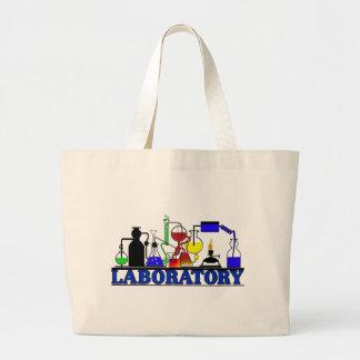 LAB WARE - LABORATORY GLASSWARE SETUP JUMBO TOTE BAG