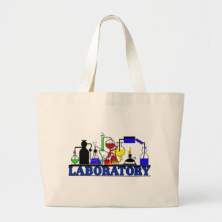 LAB WARE - LABORATORY GLASSWARE SETUP LARGE TOTE BAG