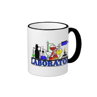 LAB WARE - LABORATORY GLASSWARE SETUP RINGER COFFEE MUG