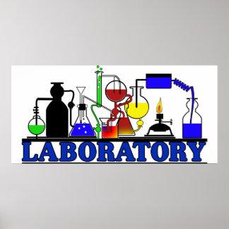 LAB WARE  LABORATORY GLASSWARE SETUP POSTER