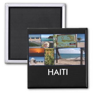 Labadee, imán cuadrado de Haití