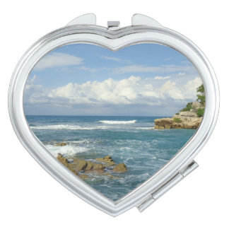 Labadee Seascape Compact Mirror