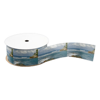 Labadee Seascape Grosgrain Ribbon