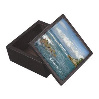 Labadee Seascape Jewelry Box