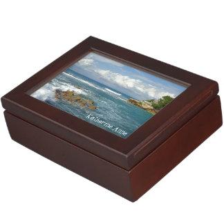 Labadee Seascape Personalized Memory Box
