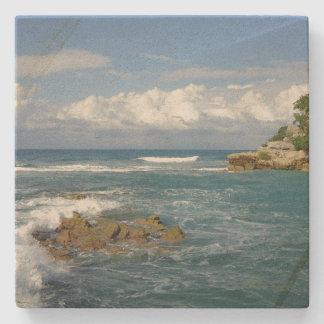 Labadee Seascape Stone Coaster