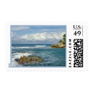 Labadie Seascape Postage Stamp