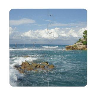 Labadie Seascape Puzzle Coaster