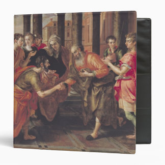 Laban Presenting Eliezer to his Father, 1562 3 Ring Binder