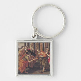 Laban Presenting Eliezer to his Father, 1562 Key Chains