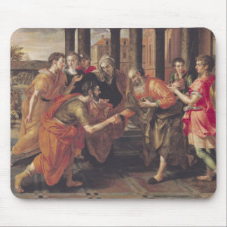 Laban Presenting Eliezer to his Father, 1562 Mouse Pad