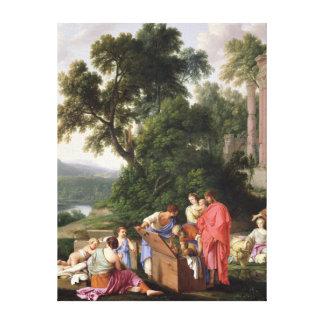 Laban que busca para los ídolos 1647 impresiones en lona