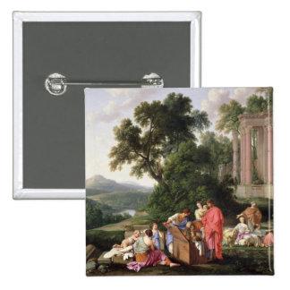 Laban que busca para los ídolos, 1647 pin cuadrada 5 cm