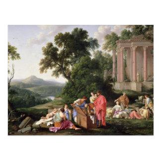Laban que busca para los ídolos, 1647 tarjetas postales