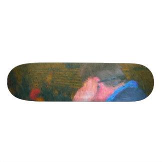 labbe media 021_Painting Skate Board