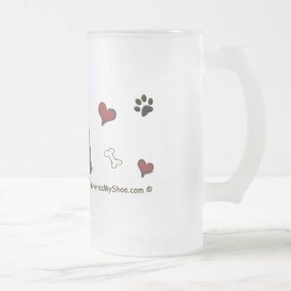 LabChoco Frosted Glass Beer Mug