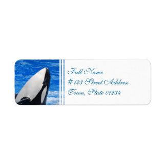 Label-2 de envío - Modificado para requisitos part Etiqueta De Remite