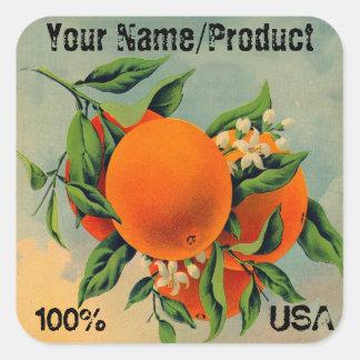 Label 2 Oranges