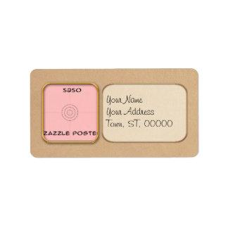 Label - Address - Landscape