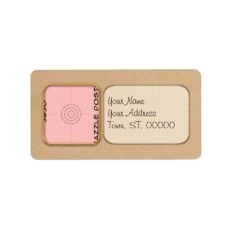 Label - Address - Portrait
