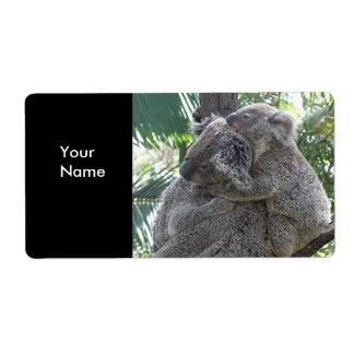 Label Address Stickers Koala Bears Babies