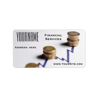 Label: Financial Services Label
