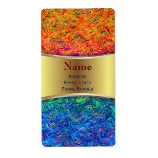 Label Fluid Colors