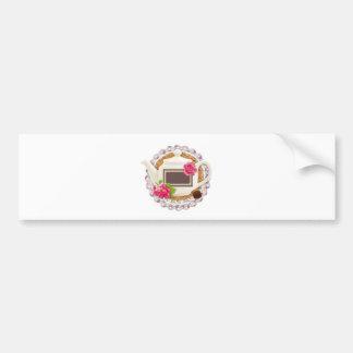 Label for Tea Party Car Bumper Sticker