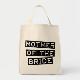 Label Mother of the Bride Tote Bags