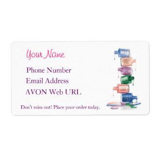 Label My AVON Pretty! Shipping Label