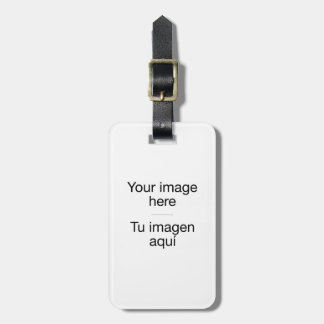 Label of suitcases of customized design luggage tag