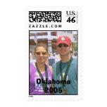 label, Oklahoma 2005 Postage