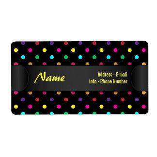 Label Polka Dot