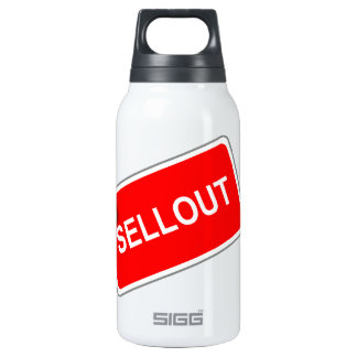 Label Sellout 10 Oz Insulated SIGG Thermos Water Bottle