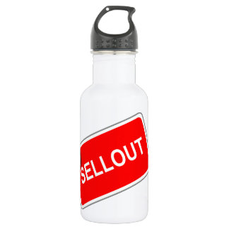Label Sellout 18oz Water Bottle