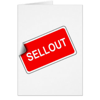 Label Sellout Card