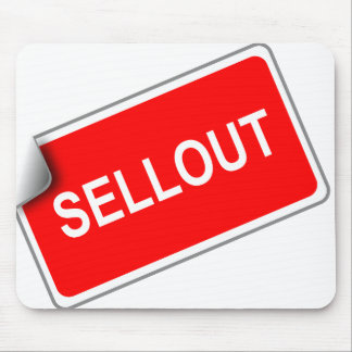 Label Sellout Mouse Pad