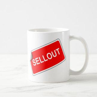 Label Sellout Classic White Coffee Mug
