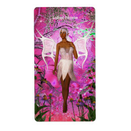 Label Stickers Fantasy Fairy