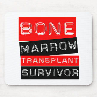 Label Style - Bone Marrow Transplant Survivor Mouse Pad