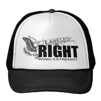 LABELED RIGHT WING EXTREMIST Fish Net Hat