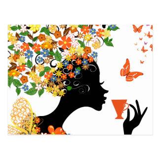 LaBelle Butterfly Postcard