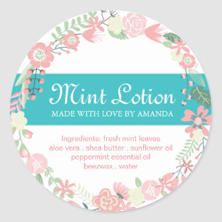 Labels for Lotions and Salves