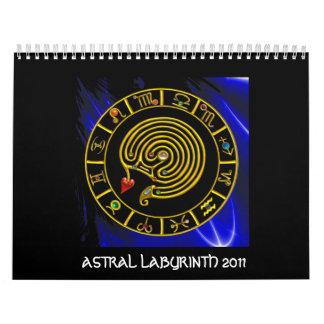 LABERINTO ASTRAL 2011 CALENDARIOS